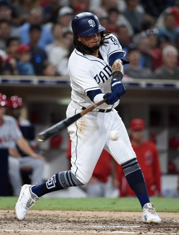 Padres Drop Series Opener against Angels