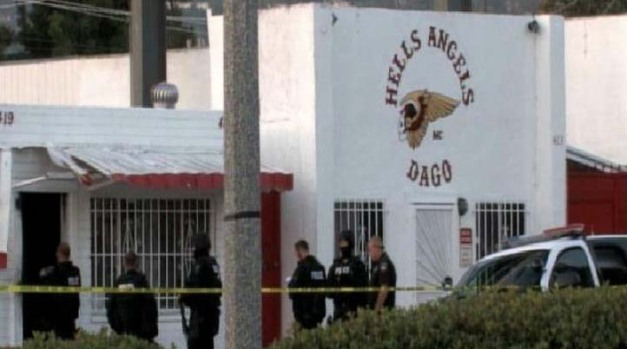 SWAT Blasts Hells Angels' Door