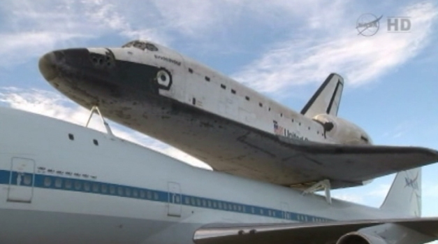 [LA] Look Up, LA! It's Endeavour