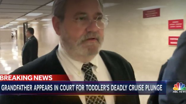 Grandfather Charged in Toddler's Cruise Ship Death: 'They Can't Do Anything Worse to Me'}
