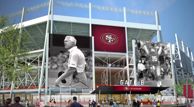 Images of New 49er's Stadium