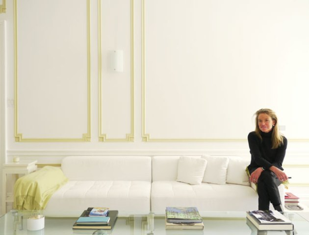 A Famous Designer's All-White Apartment