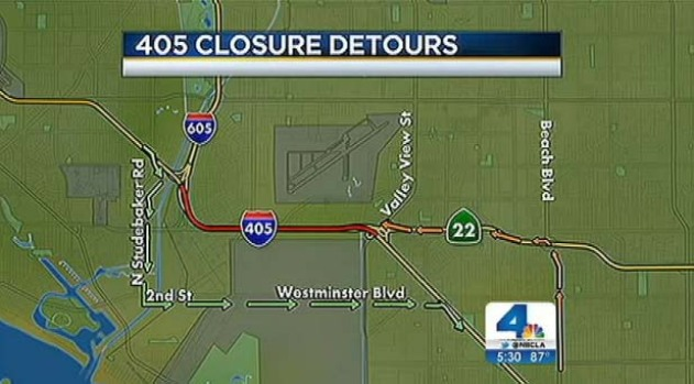 [LA] Drivers, Shop Owners Brace for Major OC Fwy Closure