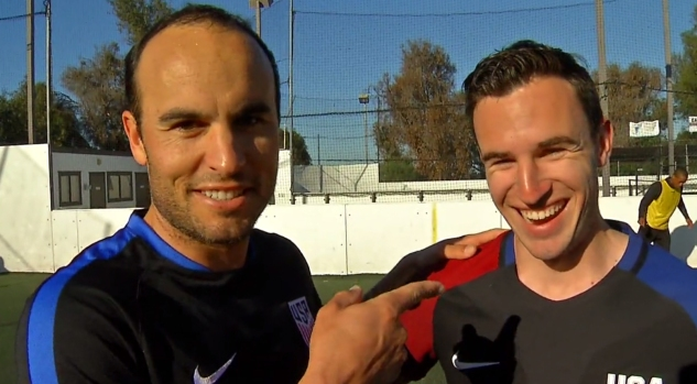 Landon Donovan Trains With San Diego Sockers