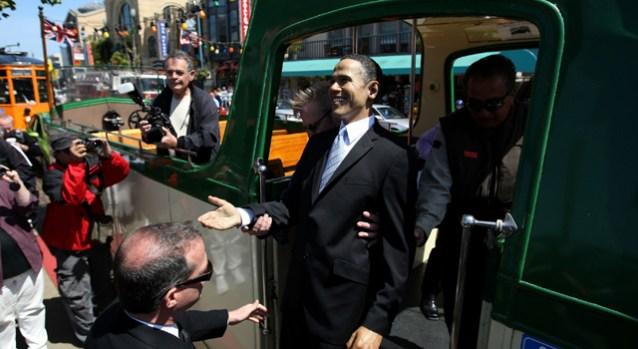 President Obama Waxes San Francisco