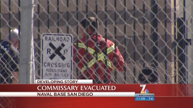 ... Navy Exchange-Commissary compound. NBC 7's Sherene Tagharobi has the