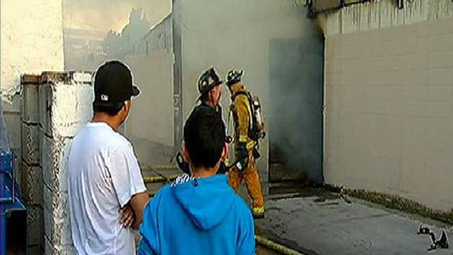 Barrio Logan Produce Market Damaged by Fire