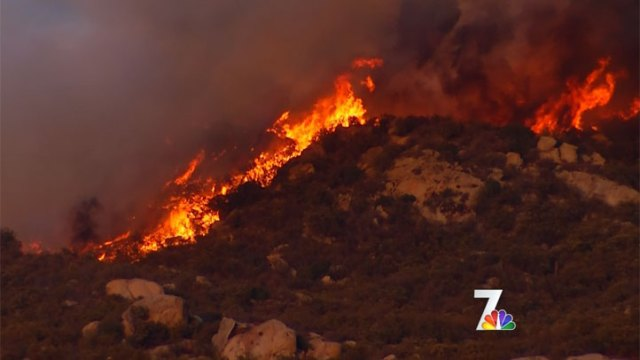 Chihuahua Valley Fire: Images