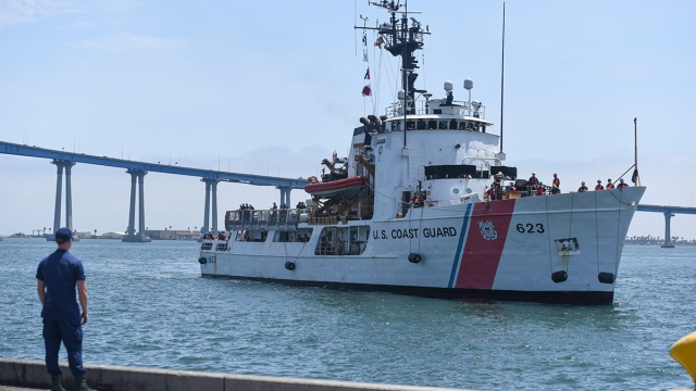 8.5 Tons of Cocaine Off-Loaded in San Diego