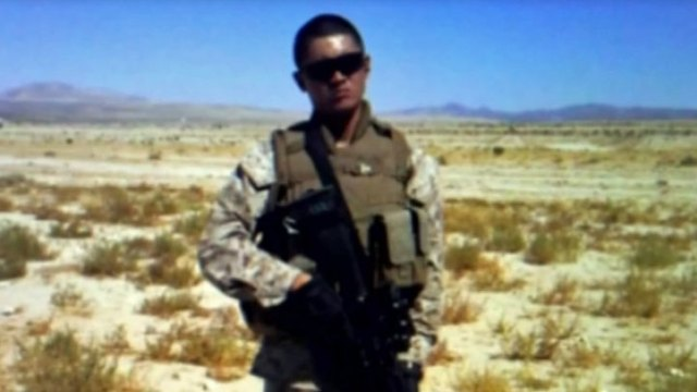 Marine Shot by Palm Springs Police