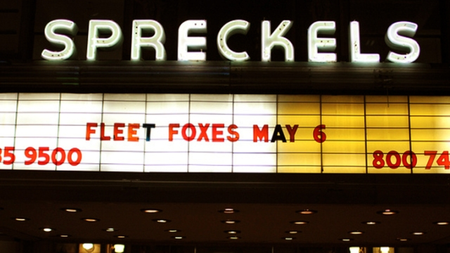 Screen Grabs: Fleet Foxes, Cave Singers @Spreckels
