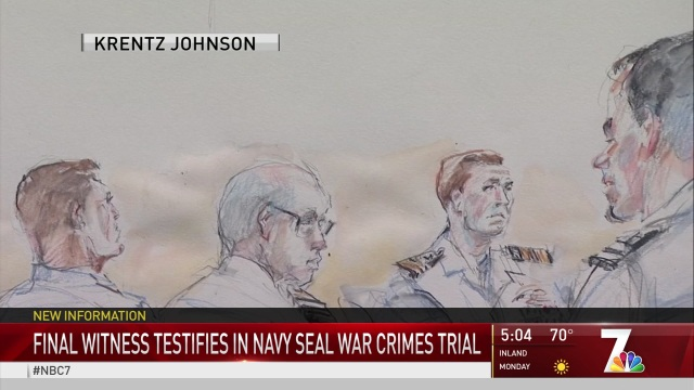 Jury Deliberations Continue in Navy SEAL War Crimes Trial - NBC 7