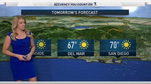 Vanessa Herrera's Weather Forecast for December 3, 2016