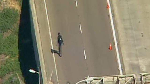 Pipe Bomb Scare on Coronado Bridge