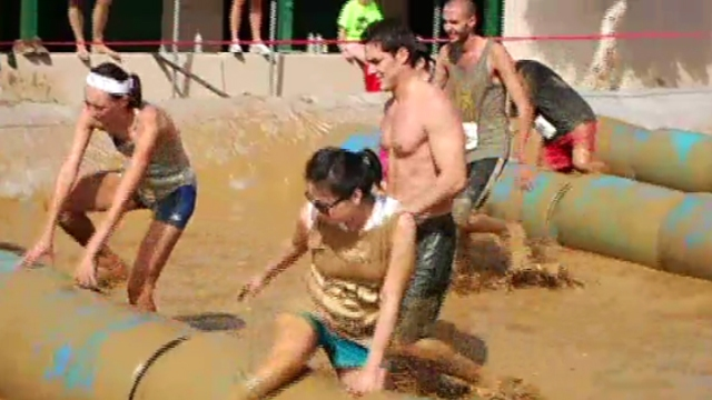 Del Mar Mud Run: 2012
