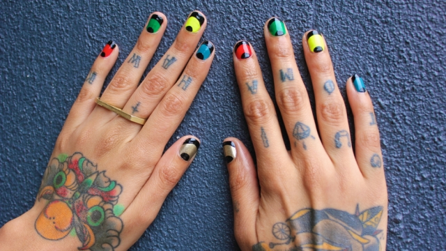 Fleury Rose's Olympic-Ready Nail Art