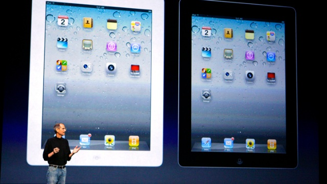 Photos: Steve Jobs & iPad 2