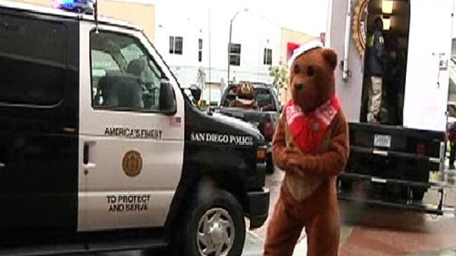 Police Donate 100,000 Teddy Bears