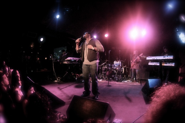 Ky-Mani Marley and Gramps Morgan at the Belly Up