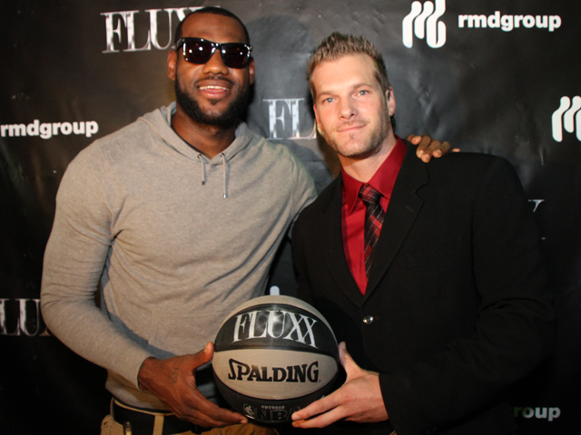 Screen Grabs: LeBron Gets His Game on at Fluxx