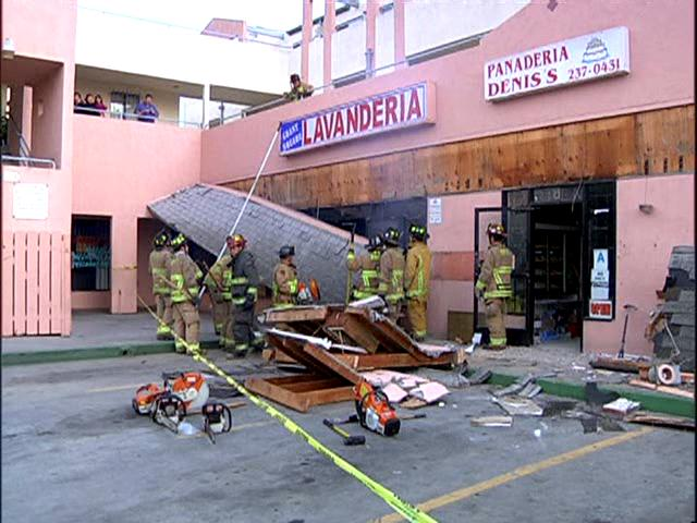 Golden Hill Store Awning Collapses