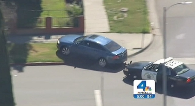 [NATL-V-LA] Dramatic SoCal Car Chases Defy Logic, Common Sense