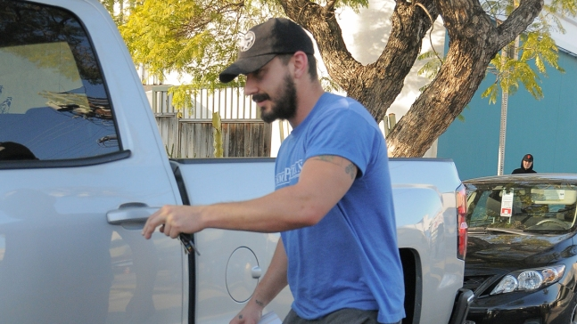 Shia LaBeouf's Latest Art Project: Hitchhiking the US