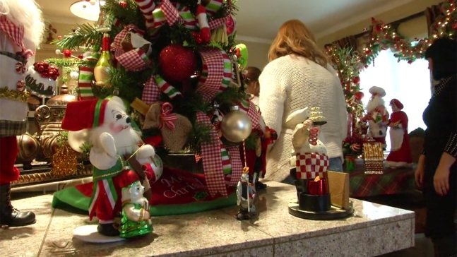 Alpine Woman Decks Out Home With 23 Christmas Trees