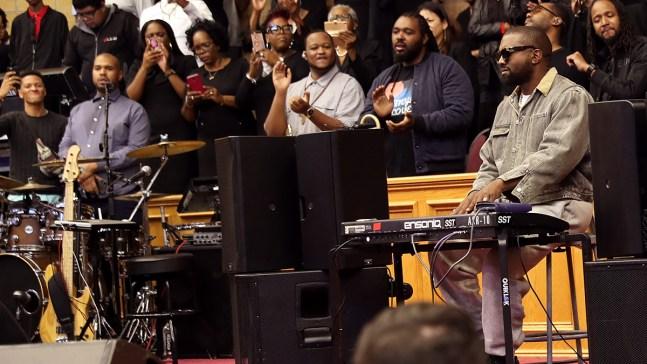 Go Behind the Scenes of Kanye West's 'Jesus Is King' Film