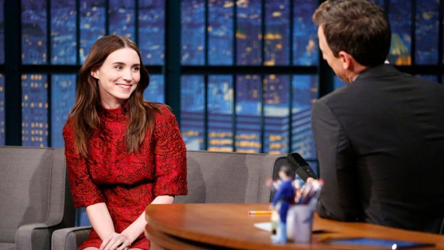 'Late Night': Rooney Mara 'Hated' Football Games
