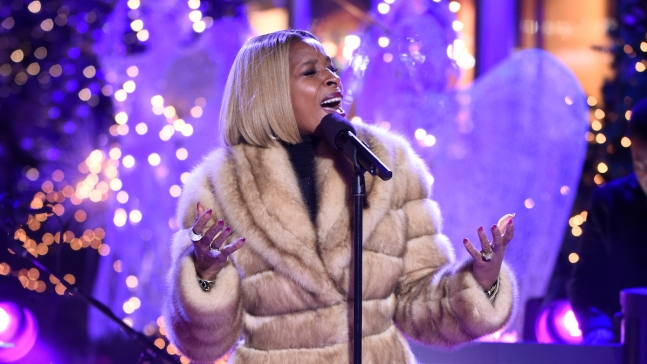 Blige Set for 'Christmas in Rockefeller Center'