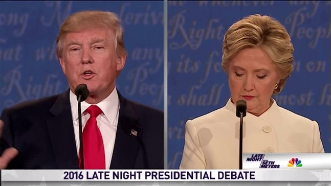 'Late Night': Presidential Debate