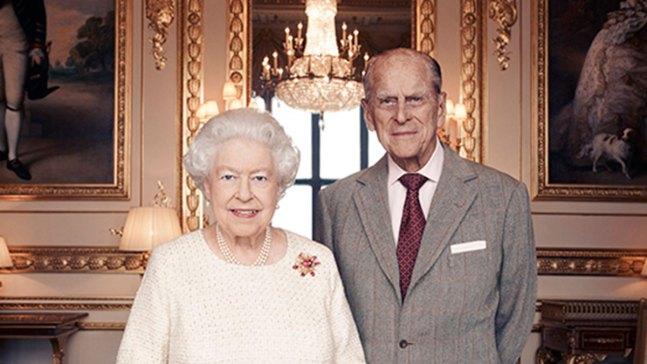 Queen Elizabeth, Prince Philip Celebrate 70th Anniversary