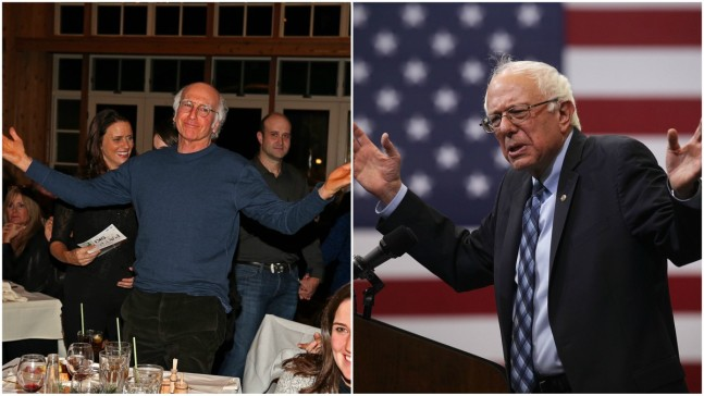 Larry David and Bernie Sanders Are Apparently Related