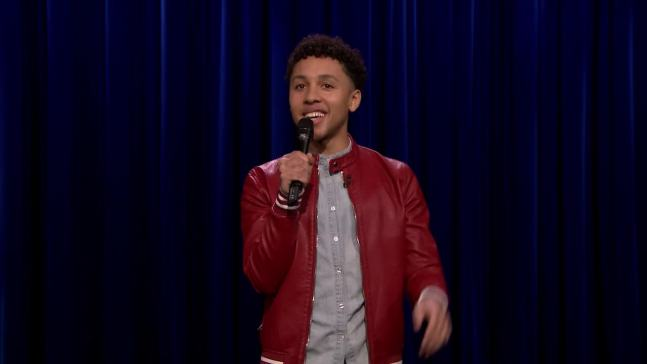 'Tonight': Jaboukie Young-White Performs TV Stand-Up Debut