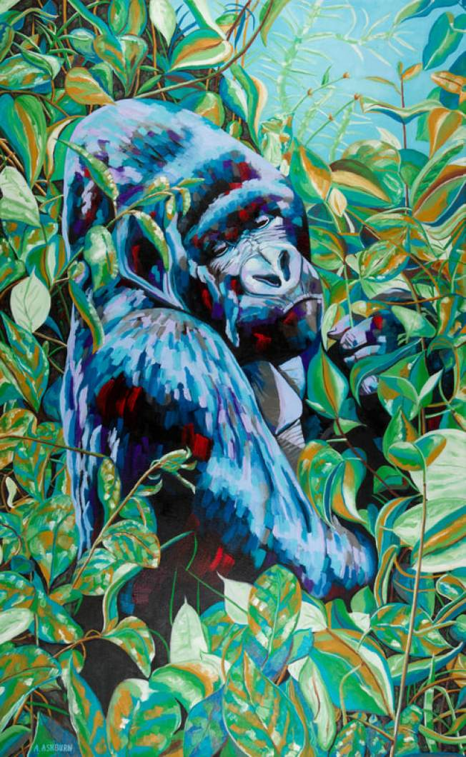 """""""Call of the Wild,"""" Animal Art To Save Endangered Species"""