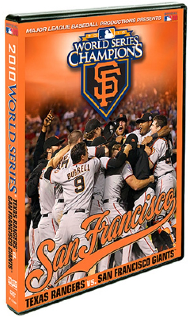 Giants Win! Relive the World Series on DVD