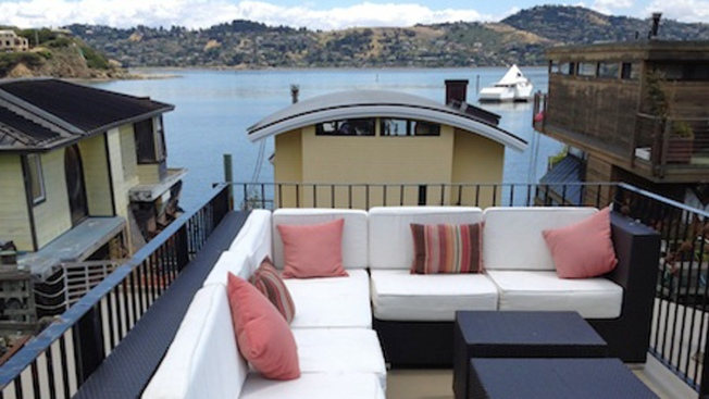 Sausalito Houseboat Rated One of America's Top Vacation Rentals