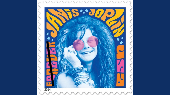 Janis Joplin Stamp On Sale This Weekend