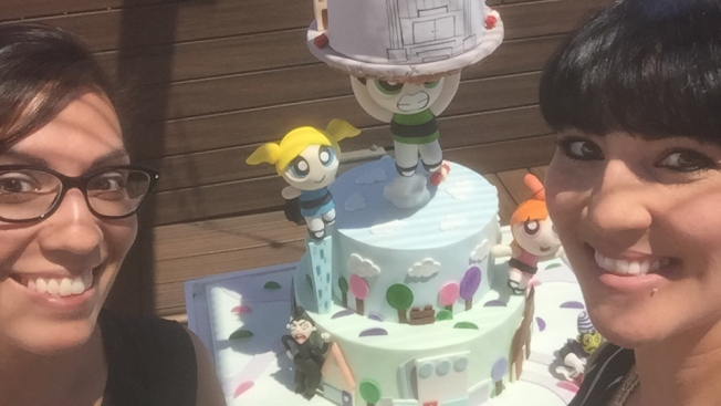 Local Bakers Win Grand Prize With Larger-Than-Life Powerpuff Girls Cake on 'Cake Wars'