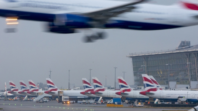 Drone Report Halts Departures at London's Heathrow Airport