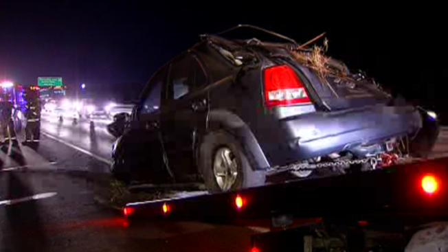 5 Injured in Separate Crashes on I-5