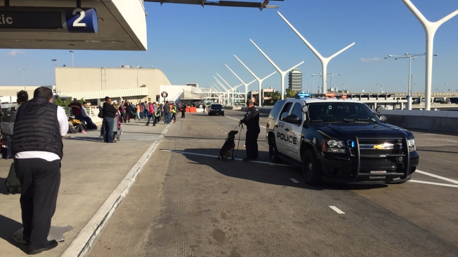 LAX Terminal Evacuated Over Bomb Threat