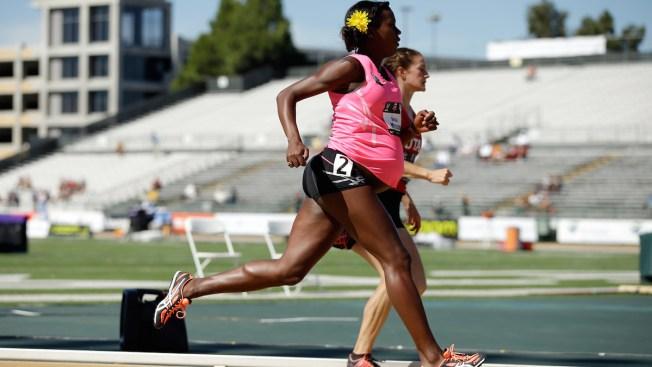 Pregnant Alysia Montano Runs at U.S. Championships
