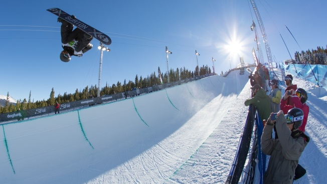 Shaun White Finishes Third in Slopestyle