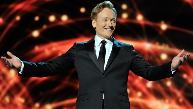 Conan O'Brien Throws Comic-Con Bingo Party