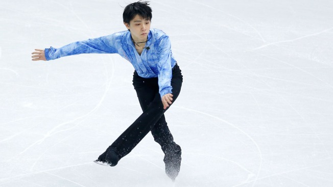 Hanyu Gives Japan Lead in Team Figure Skating