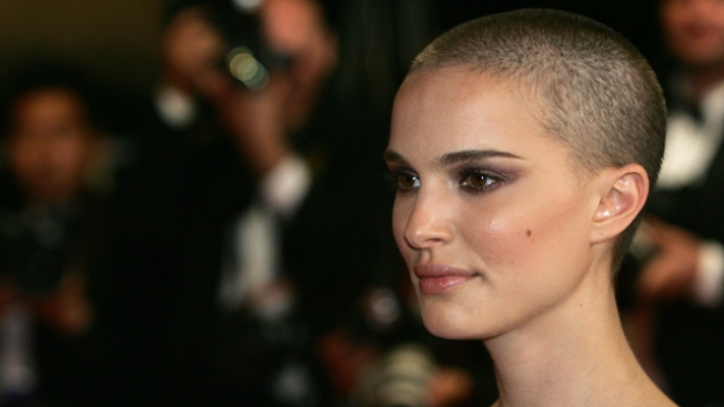 Natalie Portman's Shaved Head
