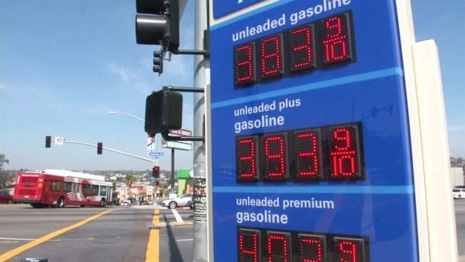 Gas Prices San Diego >> Gas Prices May Jump From California Emissions Law Nbc 7 San Diego