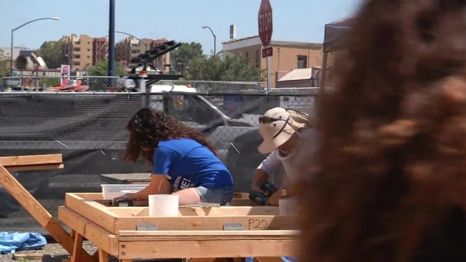 Construction underway on new san diego art center nbc 7 for 8 by 16 tiny house